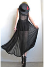 Black-sheer-girl-on-a-vine-dress