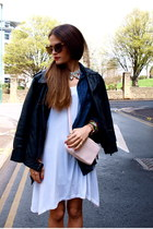 chicnova dress - H&M bag - chicnova sunglasses