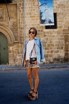 Levis jacket - Topshop heels