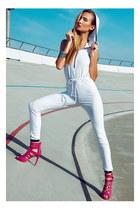 ring - heels - bodysuit