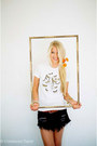 Kitty-cat-apparel-t-shirt-one-teaspoon-skirt-jcrew-belt