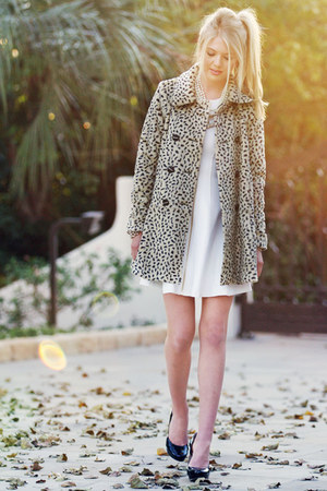 free people jacket - Theory dress - Cole Haan heels