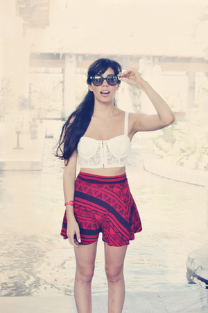 ethnic pattern American Apparel skirt