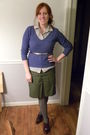 Blue-new-york-co-sweater-silver-target-blouse-green-target-skirt-gray-ni