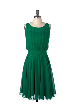 green modcloth dress