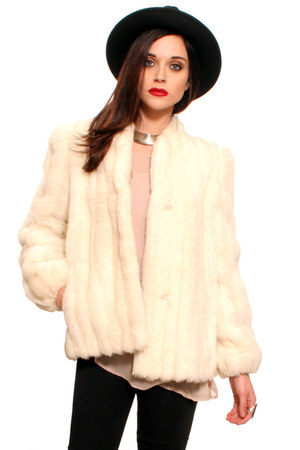 black gypsy warrior hat - ivory gypsy warrior jacket