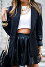 Haute-rebellious-necklace-haute-rebellious-blazer-haute-rebellious-bag