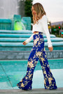 Blue-haute-rebellious-top-white-haute-rebellious-pants