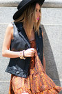 Haute-rebellious-vest-haute-rebellious-boots-haute-rebellious-dress