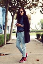 Weekend wear: Double Denim + Oversized Blazer