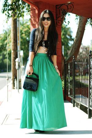 Zara blazer - Alexander Wang bag - Zara skirt