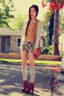 Lita-jeffrey-campbell-boots-h-m-bag-urban-outfitters-shorts-h-m-top