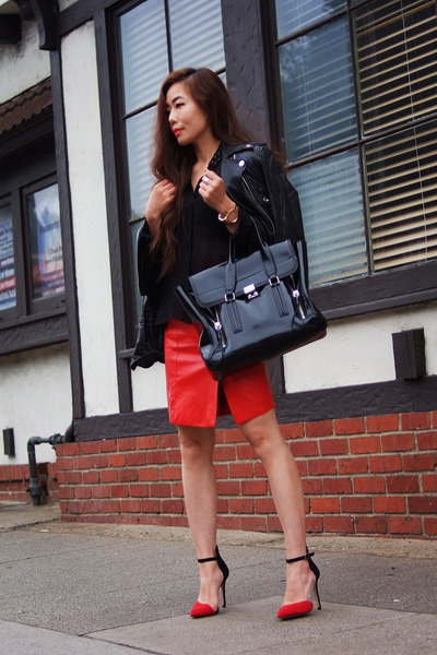 31 Phillip Lim bag - Zara shoes - Forever21 skirt