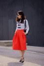 Bag-skirt-heels