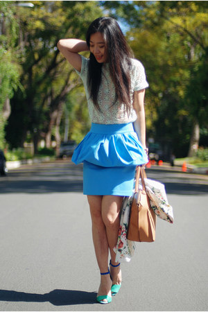 Zara shoes - Zara skirt