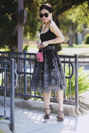 Chanel bag - Dolce & Gabbana heels