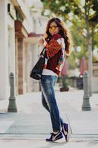 Ostwald Helgason jacket - 31 Phillip Lim bag - Target sunglasses - Puma sneakers