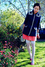 H-m-jacket-thrifted-bag-h-m-skirt-pink-celine-heels-h-m-bracelet