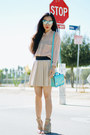 Aquamarine-romwe-bag-eggshell-zara-skirt-nude-alexander-wang-wedges