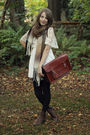 White-vintage-dress-brown-vintage-boots