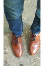 Brown-brogues-zara-shoes-blue-zara-jeans-navy-bow-jcrew-tie