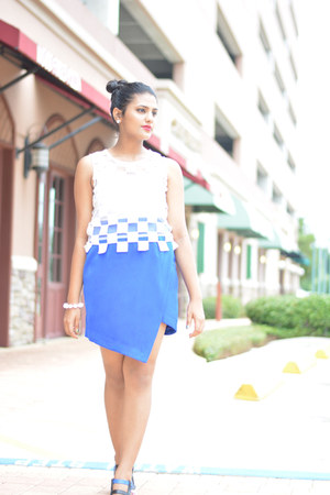 daily look top - daily look skirt