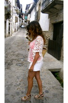 Zara shirt - Zara shorts - Marisa Rey sandals