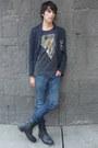 Asos-boots-zara-blazer-asos-t-shirt