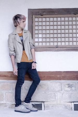 Forever 21 jacket - H&M jeans - Kr3w sneakers - Zara t-shirt