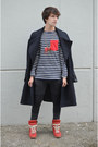Maison-martin-margiela-for-h-m-coat-h-m-jeans-zara-t-shirt