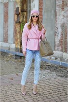 Zara jacket - Valentino shoes - Celine bag