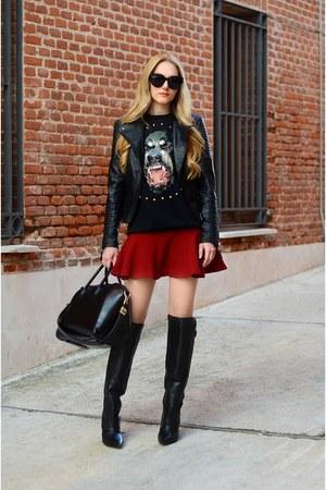 Zara jacket - Givenchy purse