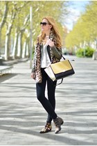 Fashion Pills jacket - Chloe shoes - Celine bag