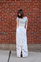 handmade - Megan Nielsen Banksia pattern t-shirt - handmade