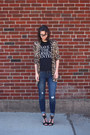 Navy-old-navy-jeans-black-cfda-t-shirt-light-brown-modcloth-cardigan