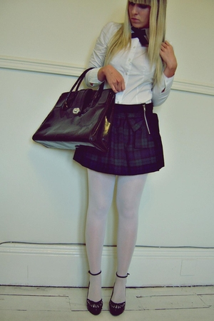 H&amp;M shirt - Atmosphere skirt - H&amp;M accessories - Atmosphere shoes - from YOUTHAG