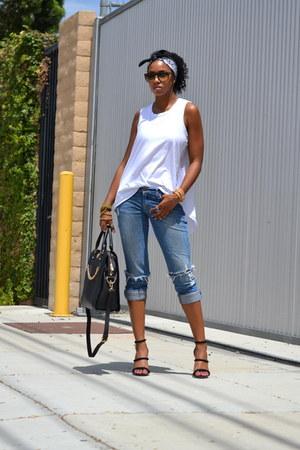 31 Phillip Lim t-shirt - hollister jeans - Gregory Sylvia purse