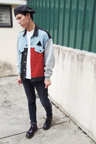 horace jacket - Cheap Monday jeans - New York Hat hat - Topman t-shirt