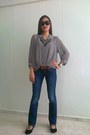 Black-esprit-glasses-gray-in2style-accessories-navy-levis-pants