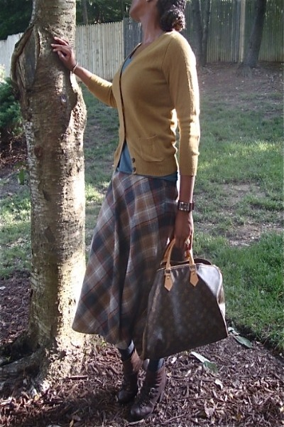 vtg plaid skirt Vtg plaid skirt skirt