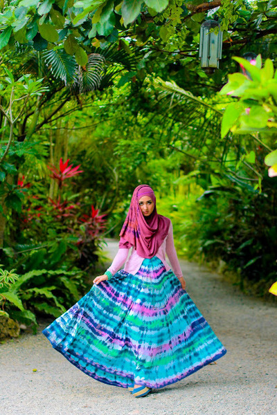 umbrella dress - hijabsosor scarf