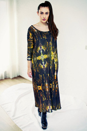 Silja Hinriksdottir dress - Topshop boots