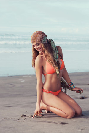 orange PilyQ Swimwear swimwear