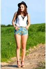 Light-blue-simpson-shorts