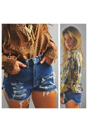 deni cut offs vintage shorts