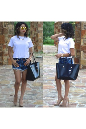 Ralph Lauren bag - Forever 21 shorts