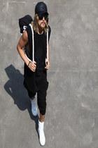 black vest vest - black pants pants