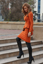 Mathilda suit - PERSUNMALL boots