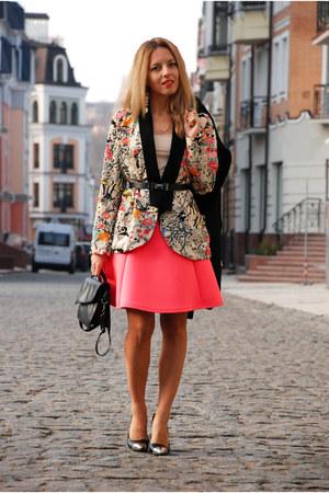 floral print PERSUNMALL blazer