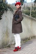 Judi Rosen coat - JCrew jeans